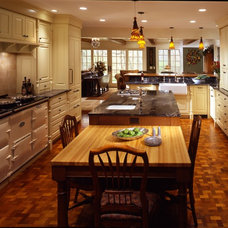 Traditional Kitchen by Porth Architects, Ltd.
