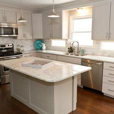 Traditional Kitchen by Karen Spiritoso Home Designs By Karen