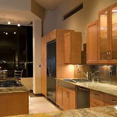 Contemporary Kitchen by Juniper Ridge Designs LLC