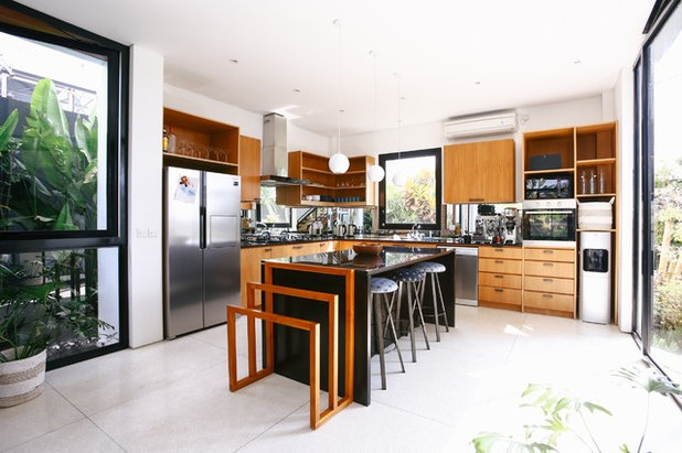 Contemporary Kitchen by Marcus Lim