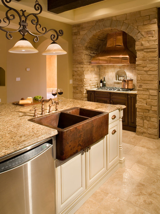 tuscan style kitchen | houzz
