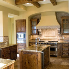 Mediterranean Kitchen by Quay Homes LLC.