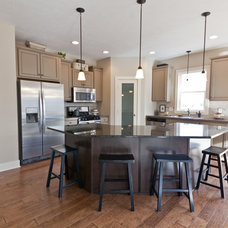 Traditional Kitchen by Jim Tibbe Homes