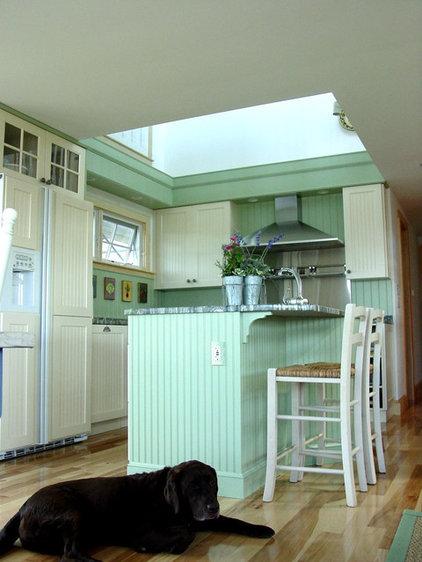 Beach Style Kitchen by Robin Amorello, CKD CAPS - Atmoscaper Design