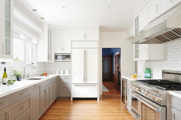 Transitional Kitchen By Konstrukt Photo