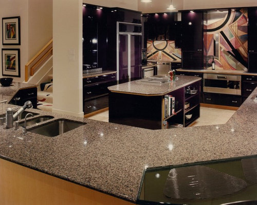 Gloss Lacquer Kitchen Cabinets Home Design Ideas, Pictures, Remodel and Decor