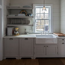 Traditional Kitchen by KATE JOHNS AIA