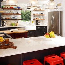Farmhouse Kitchen by Cabinet Concepts by Design