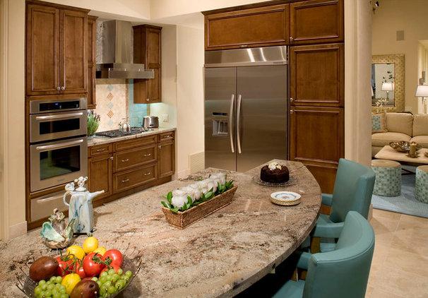 Traditional Kitchen by Cheryl Morgan Designs