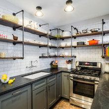 10 smarte alternativer til de traditionelle køkkenskabe