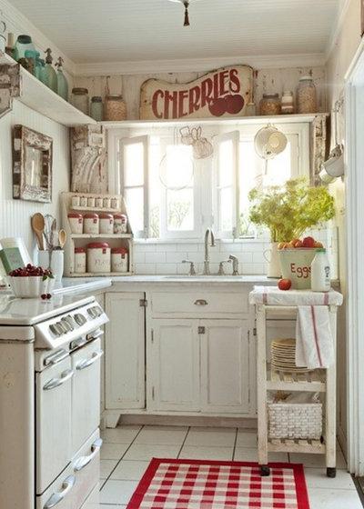 Idées Déco Qui Font Le Charme Des Cuisines Campagne - Grillage a poule decoration pour idees de deco de cuisine