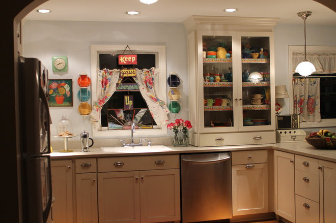 Eclectic Kitchen by Martha Layton Smith
