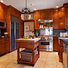 Eclectic Kitchen by Carisa Mahnken Design Guild