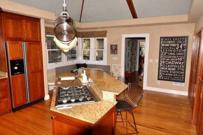 Contemporary Kitchen by Kerrie L. Kelly