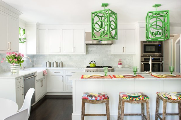 Transitional Kitchen by d2 interieurs