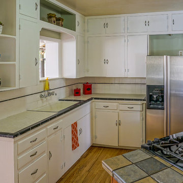 Vintage Nob Hill Bungalow - Home Staging Photos - 420 Bryn Mawr SE ABQ NM 87106