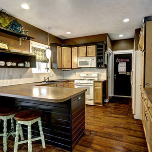Eclectic kitchen designs - Inspiration for an eclectic kitchen remodel in Grand Rapids