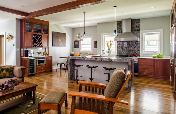 Transitional Kitchen by Alair Homes Decatur