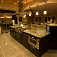 Contemporary Kitchen by dC Fine Homes & Interiors
