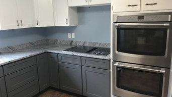 Viscon (Viscount) kitchen with 3/4 backsplash