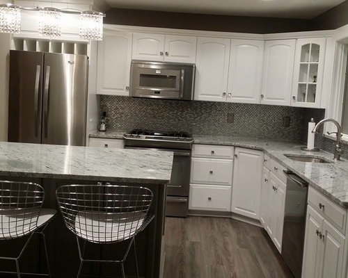 Kitchen appliances - Viscount White Home Design Ideas Pictures Remodel And Decor