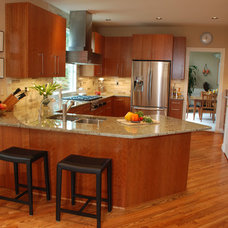 Traditional Kitchen by Vision Woodworks, Inc