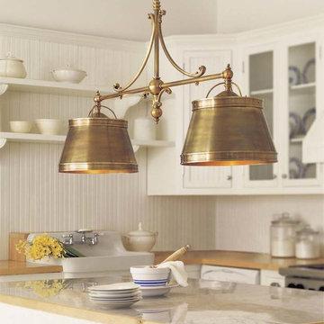 Visual Comfort Chart House 4 Light Sloane Double Shop Light