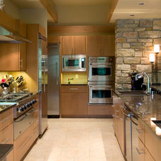 Contemporary Kitchen by Blue Hot Design