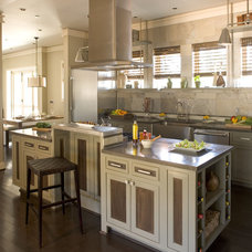 Contemporary Kitchen by Fireclay Tile