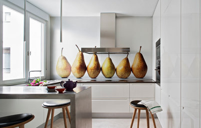 Delicious Decor That Takes Food out of the Kitchen