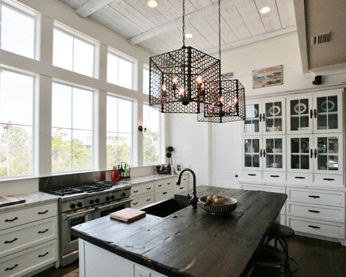 Save Photo - Reclaimed Wood Counter Tops Houzz