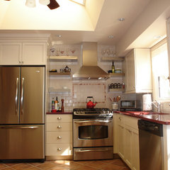 eclectic kitchen by Robert Kramer  AKBD