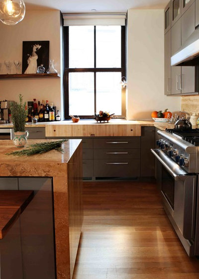 Cool Contemporary Kitchen by Nic Darling