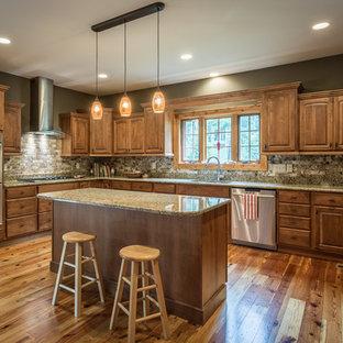 75 Most Popular Medium Sized Rustic Kitchen Design Ideas ...