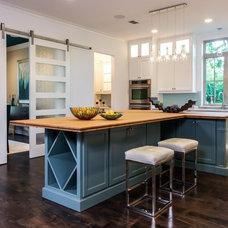Craftsman Kitchen by Sterling Brook Custom Homes
