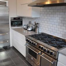 Modern Kitchen by All Renovation Construction LLC
