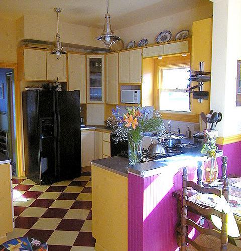 Checkerboard Linoleum Home Design Ideas, Pictures, Remodel