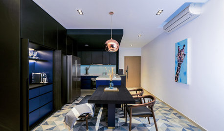 Houzz Tour: This Home Makes a Statement With Navy Blue