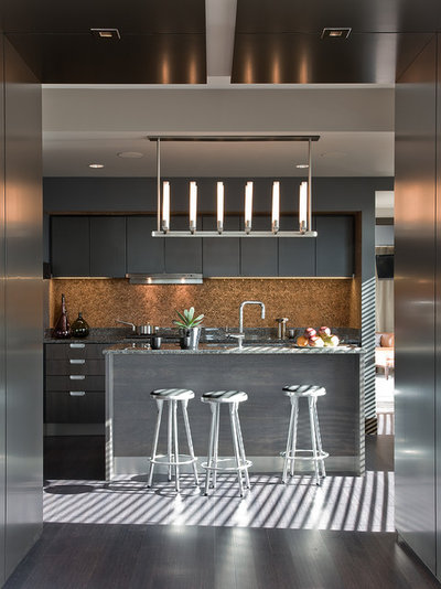 Contemporary Kitchen by Elms Interior Design