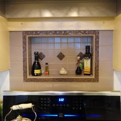 Kitchen Hood Ideas on Have You Ever Considered Adding A A Decorative Tiled Niche Above Your
