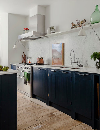 Eclectic Kitchen by British Standard by Plain English