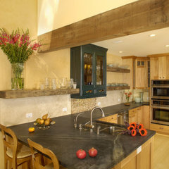 eclectic kitchen by Susan M. Davis