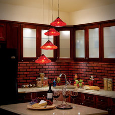 Eclectic Kitchen by WAC Lighting