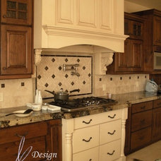 Traditional Kitchen by April Elizabeth