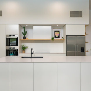 Photo of a contemporary kitchen in Other.