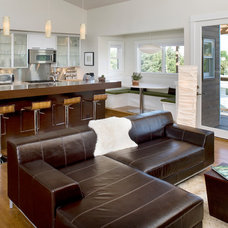 Contemporary Kitchen by Gina Roberts-Wagner