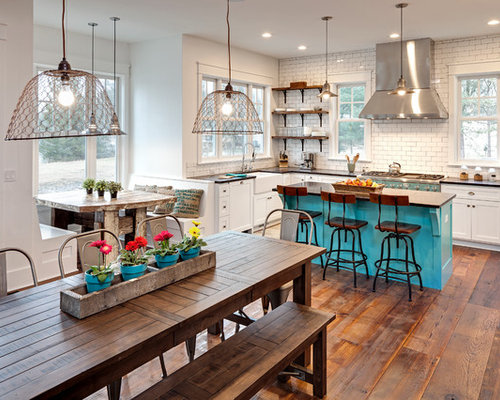 36 032 Eclectic Kitchen Design Ideas Remodel Pictures Houzz