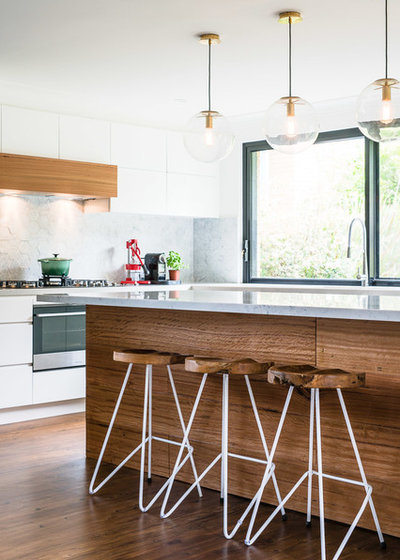 Contemporary Kitchen by Rebecca Lu Photography