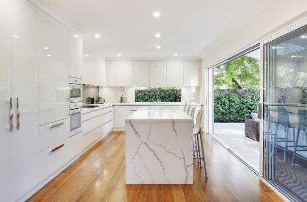 Contemporary Kitchen by Smartstone | Quartz Benchtops, Engineered Stone
