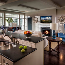 Traditional Kitchen by Charter Homes & Neighborhoods